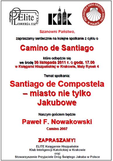 Księgarnia Hiszpańska w Krakowie - spotkanie